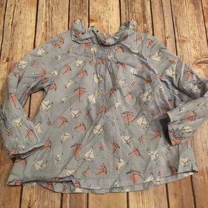 Mini Boden sailboat blouse